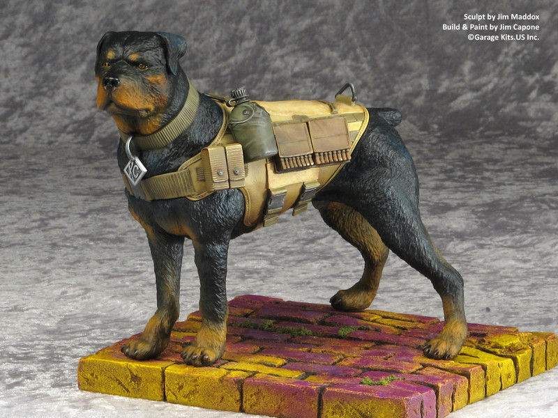 KC - Dotty's Guard Dog Model Kit